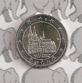 """Duitsland 2 euromunt CC 2011 """"Keulen"""""""