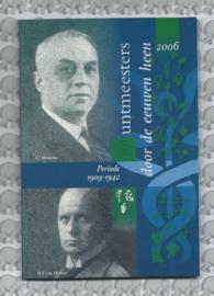 """Nederland BU set 2006 """"Muntmeesters door de eeuwen """" (Coinfair)"""