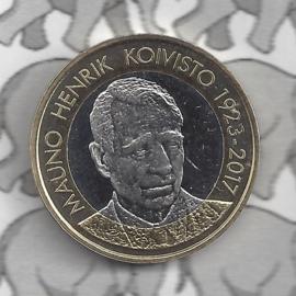 "Finland 5 euromunt 2018 (67e) ""Presidenten, Mauno Koivisto"""