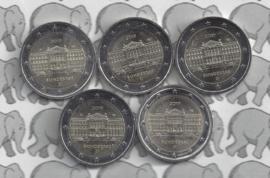 """Duitsland 2 euromunt CC 2019 """"70 Jaar Bondsraad"""" (5 letters)"""