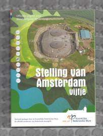 """Nederland 5 euromunt 2017 """"Stelling van Amsterdam vijfje"""" (zilver, proof in blister)"""