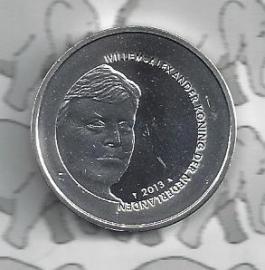 """Nederland 5 euromunt 2013 (26e) """"Vredespaleis"""" (los)"""