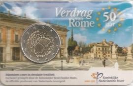 "Nederland 2 euro CC 2007 ""verdrag van Rome"" (in coincard)"