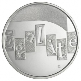 "Frankrijk 5 euromunt 2013 ""L`Egalité"", zilver (1)"