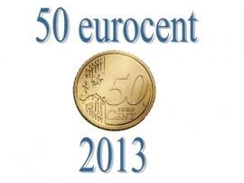 Nederland 50 eurocent 2013