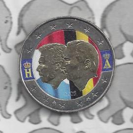 "België 2 euromunt CC 2005 ""Henri en Albert"" (kleur 2)"
