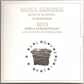 "Slovenië BU set 2013 ""Grotten van Postojna"""