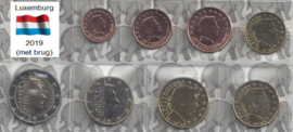 Luxemburg UNC serie 2019 (muntteken brug)