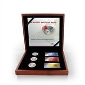 """Nederland """"de Nederlandsche Bank kleurset 2014"""" (zilver, proof met kleur in luxe houten cassette)"""