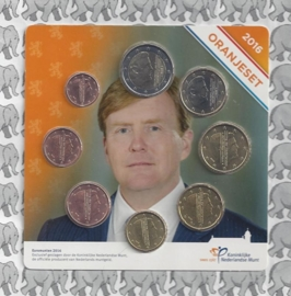 Nederland Oranje set 2016 (in blister)