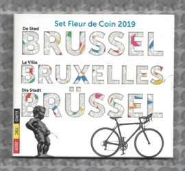 "België BU set 2019 ""Brussel"""