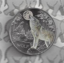 """Oostenrijk 3 euromunt 2017 """"Wolf"""" (5 van 12)"""