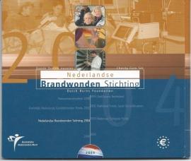 """Nederland BU set 2004 """"Brandwondenstichting """""""