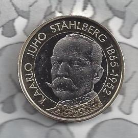 """Finland 5 euromunt 2016 (49e) """"Presidenten, Sthalberg"""""""