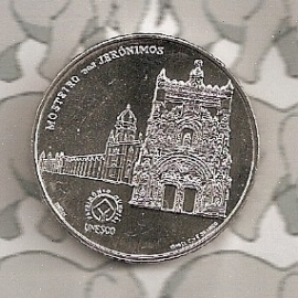 "Portugal 2,5 euromunt 2009 ""Hieronymietenklooster, Belém"" (6)"