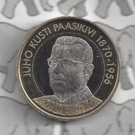 "Finland 5 euromunt 2017 (58e) ""Presidenten, Juho Kusti Paasikivi"""