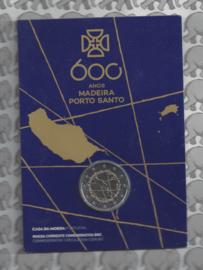 "Portugal 2 euromunt CC 2019 ""600 Jaar sinds de ontdekking van Madeira"" BU in blister"