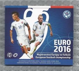 """Slowakije BU set 2016 """"EK voetbal in Frankrijk"""""""