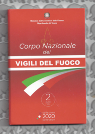 "2 euromunt CC 2020 ""De Italiaanse Brandweer"" in coincard"