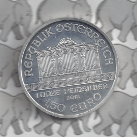 """Oostenrijk 1,5 euromunt 2013 """"Wiener Philharmoniker"""""""