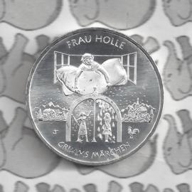 """Duitsland 20 euromunt 2021 (26e) """"Frau Holle"""", zilver"""