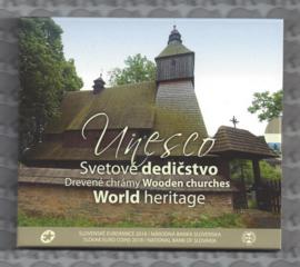 "Slowakije BU set 2018 ""Houten kerken"" (Unesco, World heritage"""