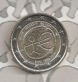 "België 2 euromunt CC 2009 ""EMU"""