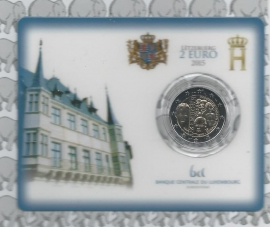 "Luxemburg 2 euromunt CC 2015 ""Dynastie"" (in coincard)"