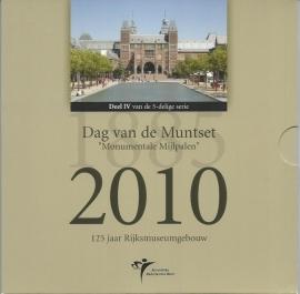 """Nederland BU set 2010 """"Dag van de Munt """""""