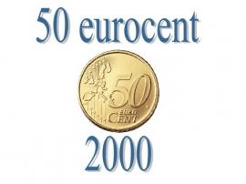 België 50 eurocent 2000
