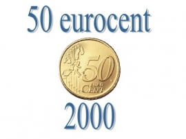 Spanje 50 eurocent 2000
