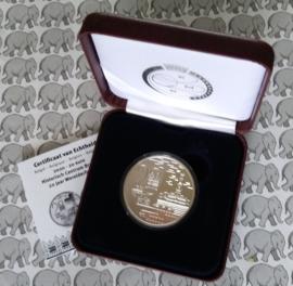 """België 20 euromunt 2020 """"20 jaar historische binnenstad Brugge werelderfgoed"""", Proof, zilver in doosje met certificaat"""
