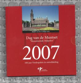 """Nederland BU set 2007""""Dag van de munt"""""""