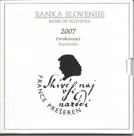 "Slovenië BU set 2007 ""France Preseren"""
