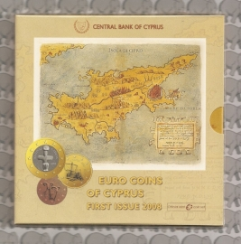 Cyprus BU set 2008