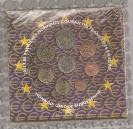 Frankrijk BU set 2002
