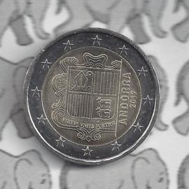 Andorra 200 eurocent (2 euro) 2017