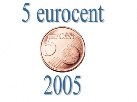 Luxemburg 5 eurocent 2005