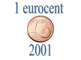 Nederland 1 eurocent 2001