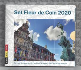 """België BU set 2020 """"De stad Antwerpen"""""""
