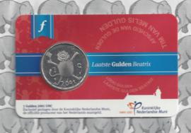 """Nederland coincard 2016 """"Laatste gulden"""""""