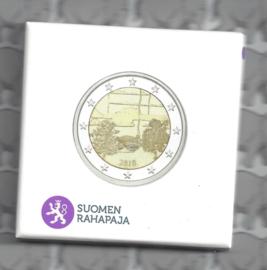 "Finland 2 euromunt CC 2018 ""de Finse Saunacultuur"" (proof)"