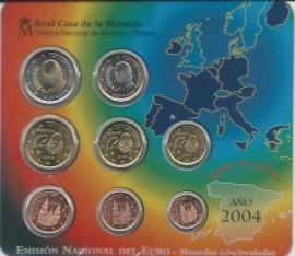 Spanje BU set 2004