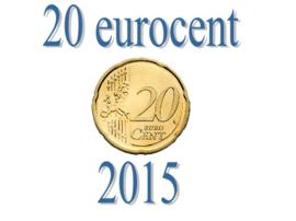 Slovenië 20 eurocent 2015