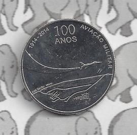 "Portugal 2,5 euromunt 2014 ""100 jaar luchtmacht"" (28)"