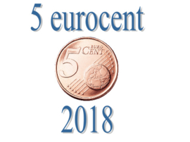 Portugal 5 eurocent 2018