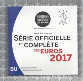 Frankrijk BU set 2017