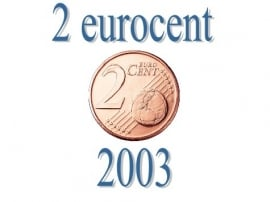 Portugal 2 eurocent 2003