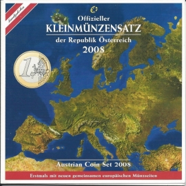 Oostenrijk BU set 2008