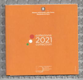 Italië BU set 2021 (8 munten)